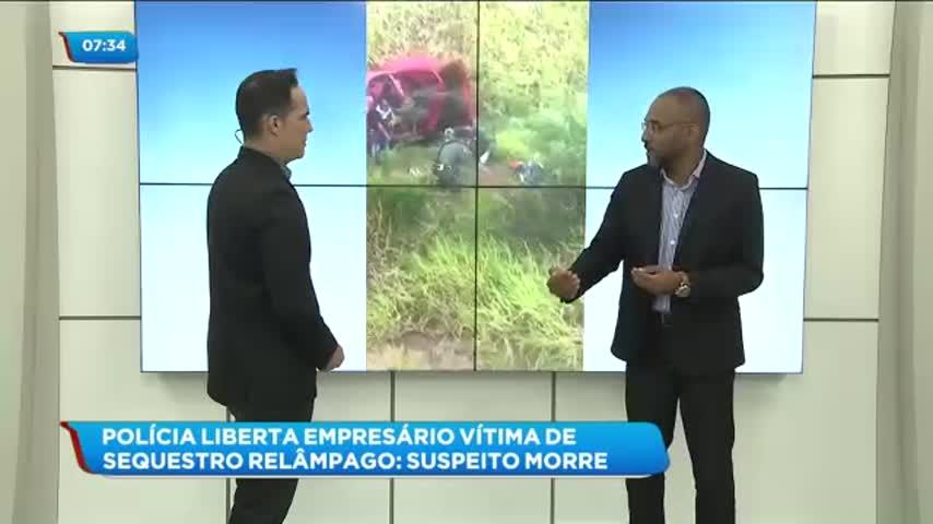 Empresário foi vítima de sequestro relâmpago no bairro do Farol