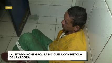 Homem foi preso ao tentar roubar a bicicleta de um jovem no Benedito Bentes