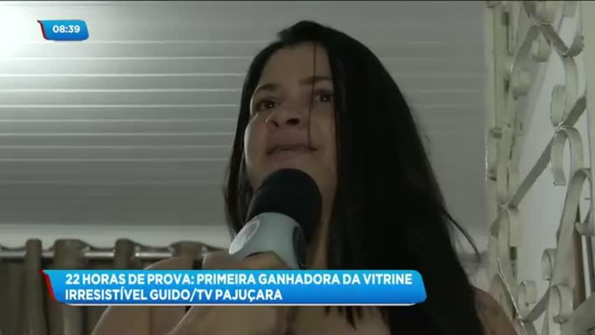 Vitrine Irresistível Guido/TV Pajuçara: conheça a 1ª vencedora