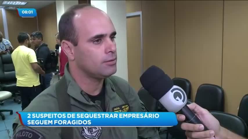 Dois suspeitos de sequestrar empresário no bairro do Farol seguem foragidos