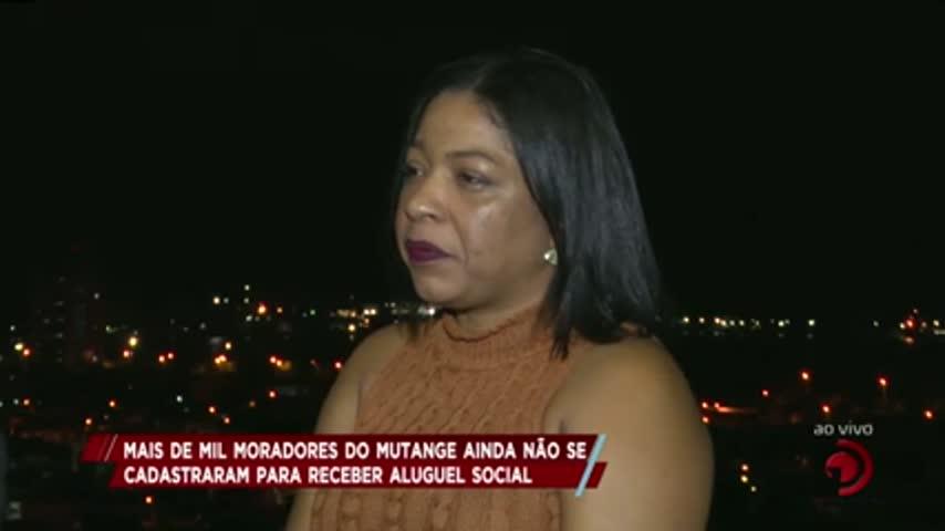 Mais de mil moradores do Mutange ainda não se cadastraram para receber aluguel social