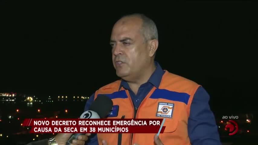 Novo decreto reconhece emergência por causa da seca em 38 municípios