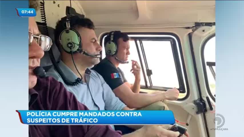 Polícia cumpre mandados contra suspeitos de tráfico de drogas em Marechal Deodoro
