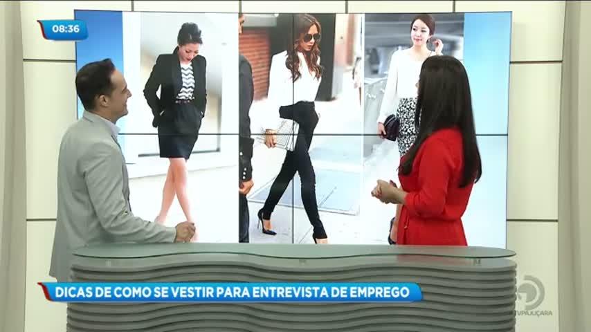 Pausa do Café: Dicas de como se vestir para entrevista de emprego