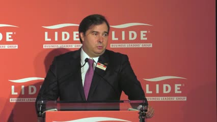 LIDE BRAZILIAN INVESTMENT FORUM - RODRIGO MAIA